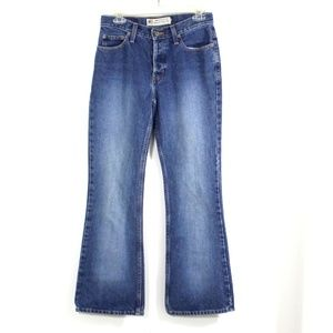 American Eagle Vintage Button Fly Bootcut Jeans 4
